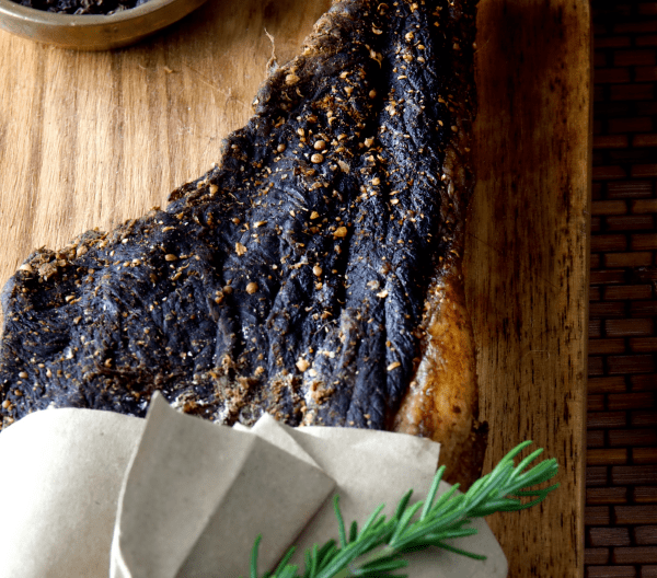 Biltong with Rosemary herb